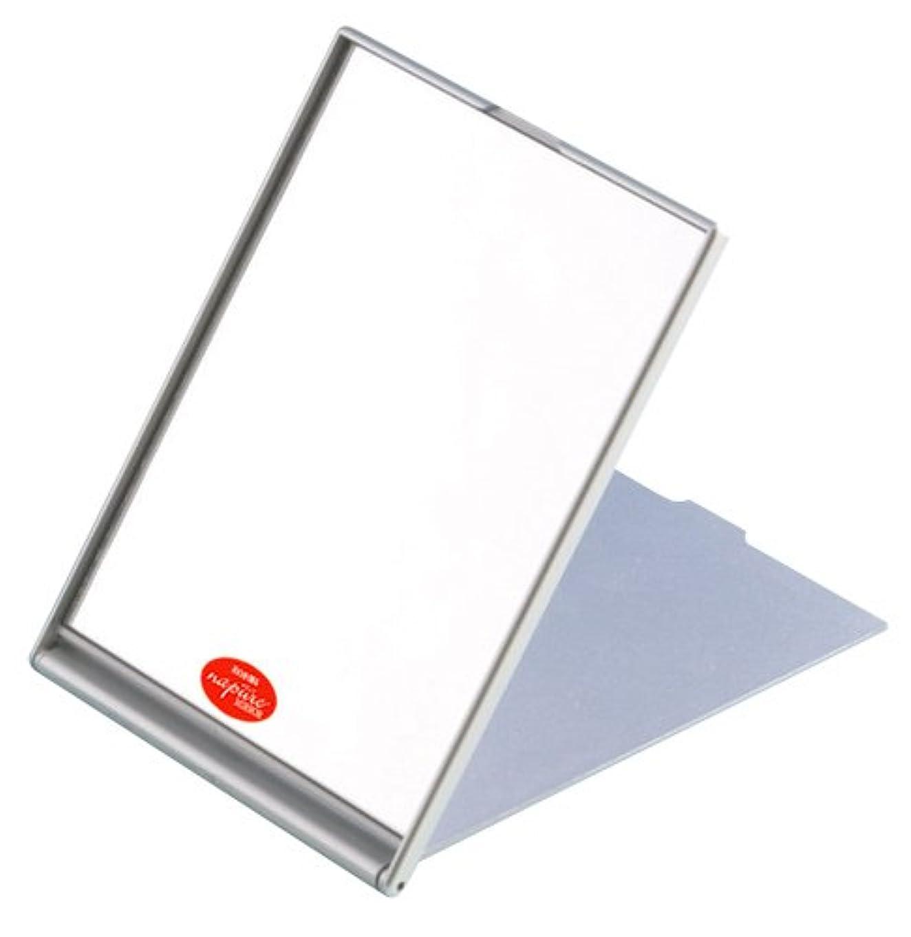 浪費部分的に錫ナピュア コンパクトミラー(M) シルバー