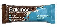 Balance Bar Dark Chocolate Coconut, 1.58 ounce bars, 6 count by BALANCE Bar