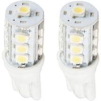LEDバルブ13連高輝度 SMD T10 ホワイト 2個セット