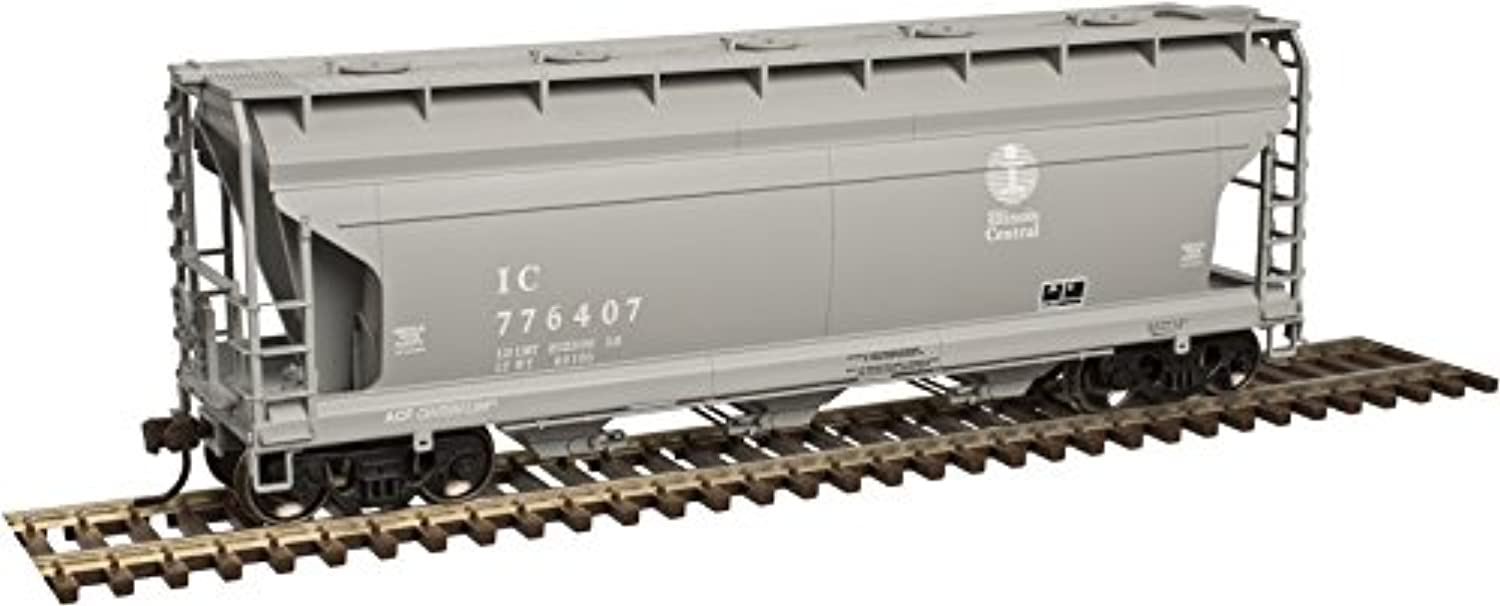 Atlas HOスケールACF 3560 center-flow Covered Hopper Illinois中央/ IC # 776407