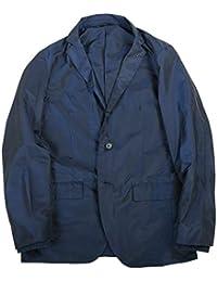 【サンプル品】【COMME CA MEN】コムサメン 2WAY ナイロンタフタ カジュアルジャケット 紺 size M