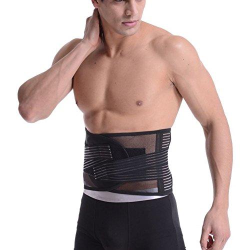 Z-Tactical お医者さんが作った腰痛ベルト コルセット 腰サポーター 腰椎固定や保護にも ヘルニア 姿勢矯正 お腹の引き締めに効果抜群 (M(~100cm))