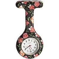 Vintage Silicone Medical Nurse Watch Clip on Lapel Watch Pocket Watch