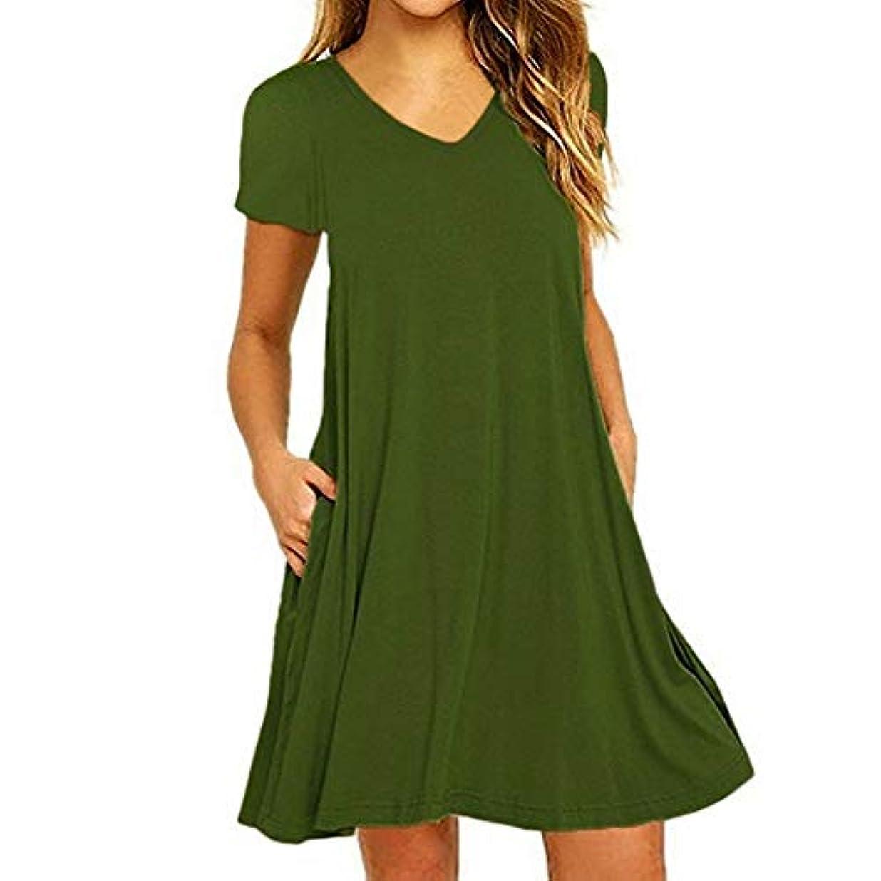 用語集ベッド怠MIFAN の女性のドレスカジュアルな不規則なドレスルースサマービーチTシャツドレス