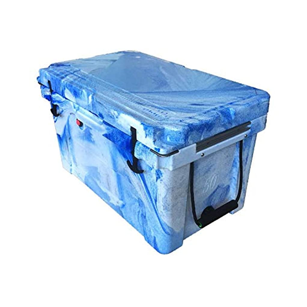 厄介な少ないバッグGquan 涼しい箱、35Lローラーのプラスチック絶縁箱の医学ワクチンの冷却装置