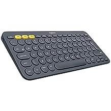 Logitech Multi-Device Bluetooth Keyboard K380, Dark Grey