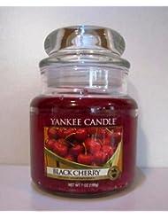 Yankee Candle 7 oz Housewarmer Jar Candle BLACK CHERRY by Yankee Candle [並行輸入品]