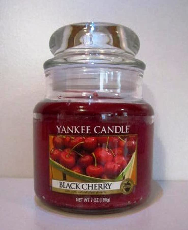 補充送信する不均一Yankee Candle 7 oz Housewarmer Jar Candle BLACK CHERRY by Yankee Candle [並行輸入品]