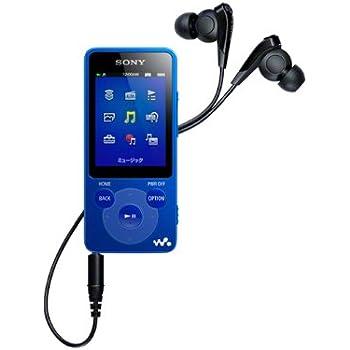 SONY ウォークマン Eシリーズ 4GB ブルー NW-E083/L