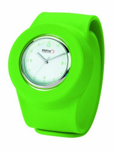 Steiner シュタイナー Men's WAA0007-LN Green Slap On アナログ Watch 男性用 メンズ 腕時計 (並行輸入)