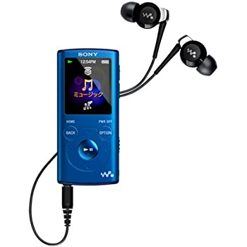 SONY ウォークマン Eシリーズ 4GB ブルー NW-E053/L