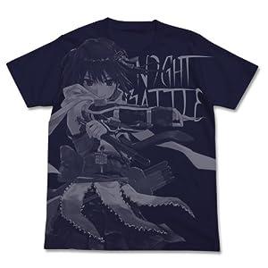 艦隊これくしょん -艦これ- 川内改二 オールプリントTシャツ ネイビー XLサイズ