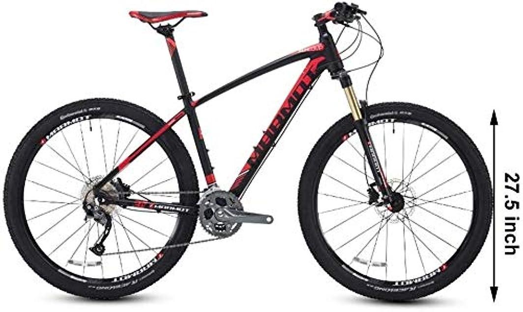 ノイズビュッフェ急性27.5インチのマウンテンバイク、メンズレディース自転車ハードテイルマウンテンバイク、アルミ27スピードマウンテンバイク、アジャスタブルシート