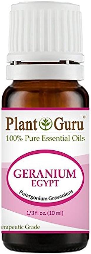 観察証人レンズGeranium Egypt Essential Oil. 10 ml. 100% Pure, Undiluted, Therapeutic Grade. by Plant Guru