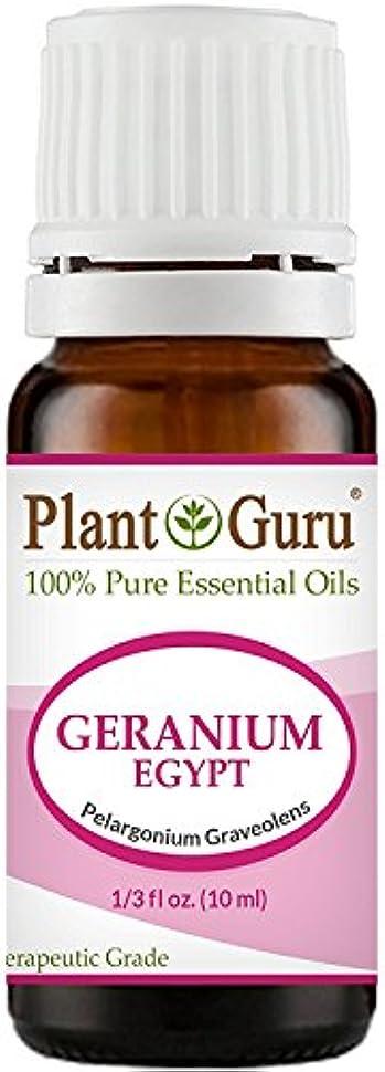 共和党違反瞑想Geranium Egypt Essential Oil. 10 ml. 100% Pure, Undiluted, Therapeutic Grade. by Plant Guru