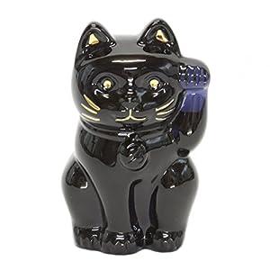 [バカラ] Baccarat LUCKY CAT 招き猫 ミッドナイト ブラック 【並行輸入品】 2607787