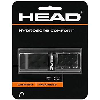 ヘッド(HEAD) 硬式テニス ラケット用 グリップテープ ハイドロソーブ コンフォート 285313 ブラック