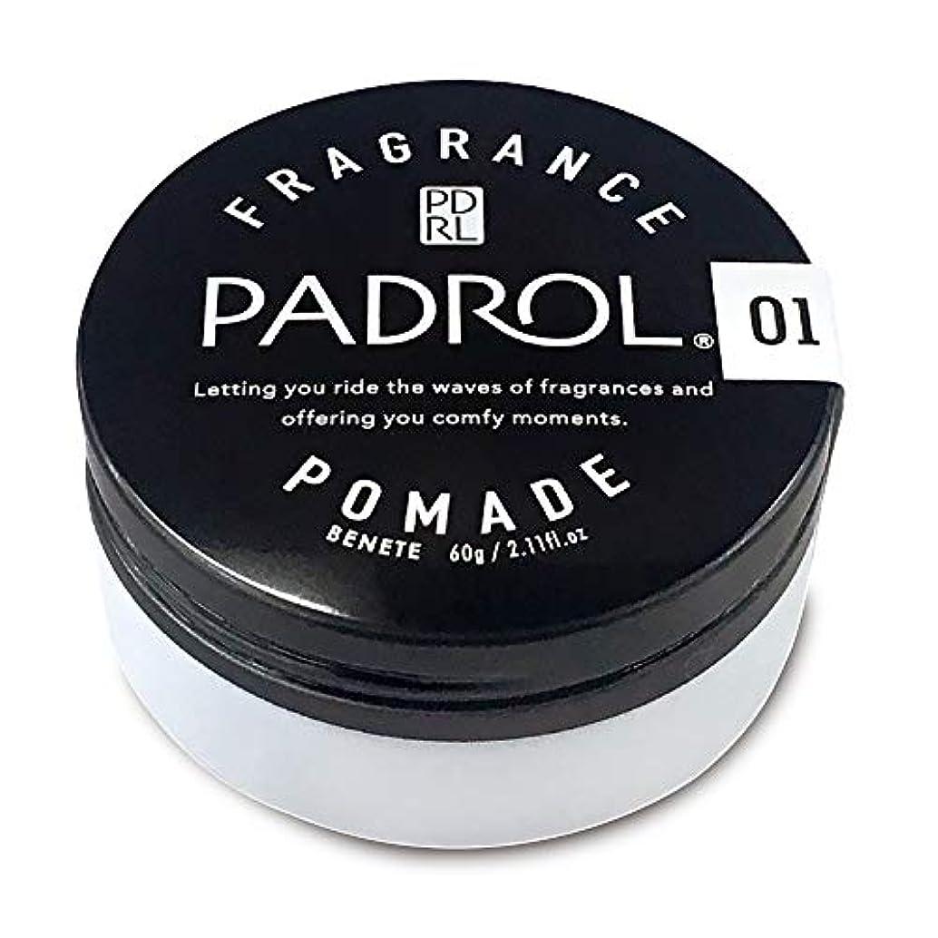 ペルメルスティーブンソンにはまってノルコーポレーション ポマード パドロール 日本製 PAD-10-01 ホワイトムスクの香り 60g