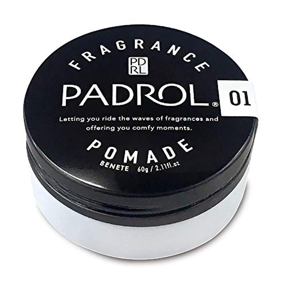 大きいフィードオンハングノルコーポレーション ポマード パドロール 日本製 PAD-10-01 ホワイトムスクの香り 60g