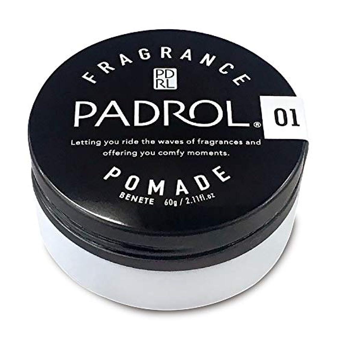 フォーマル鳩番号PADROL FRAGRANCE POMADE ノルコーポレーション PAD1001