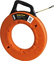 Klein Tools 56014 Navigator Fiberglass Fish Tape 200-Foot Length [並行輸入品]
