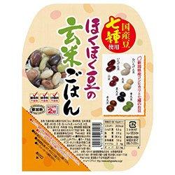 越後製菓 ほくほく豆の玄米ごはん 150g×12個入×(2ケース)