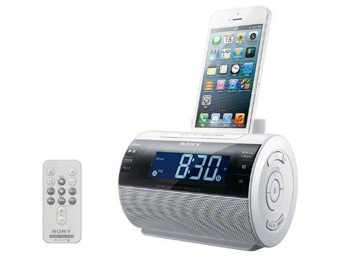 SONY iPod/iPhone用 ドックスピーカー GC11IP SRS-GC11IP/W