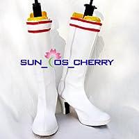 【サイズ選択可】コスプレ靴 ブーツ K-209 鉄拳5 リリ 男性28CM
