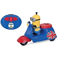 Minions Movie Infrared Remote Control Scooter with Kevin Figure [並行輸入品]