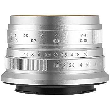 【国内正規品】七工匠 7artisans 25FXS 25mm F1.8 フジフイルムX シルバー