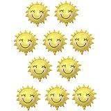 Baoblaze 10個 バルーン 可愛い 太陽 風船 おもちゃ 誕生日 パーティー装飾