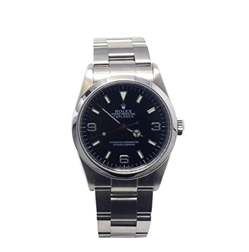 Rolex Explorer swiss-automaticメンズ腕時計114270 (認定pre-owned )