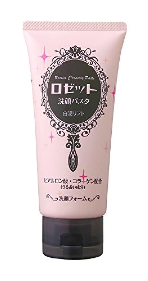 虫硫黄干渉するロゼット 洗顔パスタ 白泥リフト 120g
