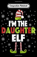 Composition Notebook: I'm The Dog Lover Elf Matching Family Group Christmas  Journal/Notebook Blank Lined Ruled 6x9 100 Pages