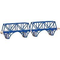 ラーニングカーブ きかんしゃトーマス 木製レール 鉄橋 99317