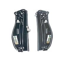 セットの2背面左と右電源ウィンドウレギュレータfor BMW e65e66745i 745li 750i 750li 760i 760li Alpina b7