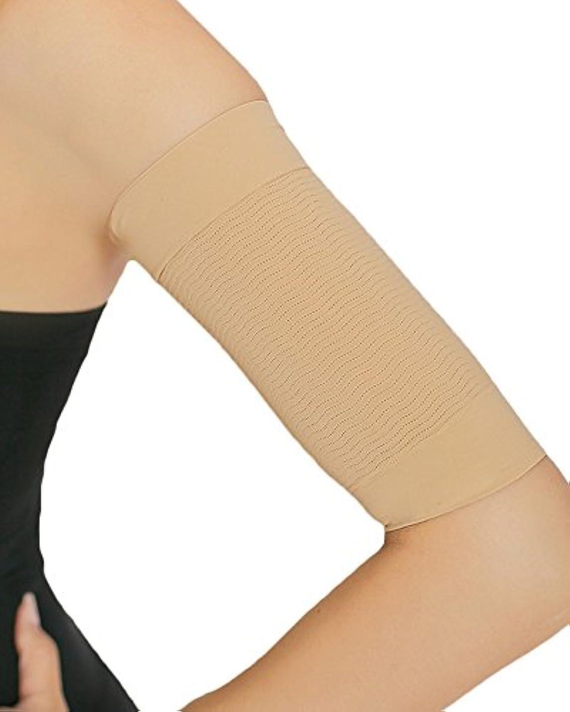 心理的に有益蓮(コウエイストア)koeistore 二の腕スッキリ 着圧 痩せ引き締め シェイパー サポーター シェイプアップ 脂肪燃焼 加圧 レディース K105