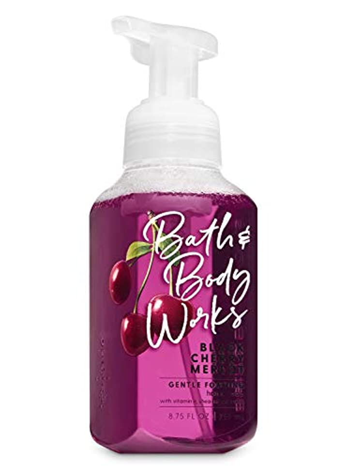 奪うシュート窒息させるバス&ボディワークス ブラックチェリー マーロット ジェントル フォーミング ハンドソープ Black Cherry Merlot Gentle Foaming Hand Soap