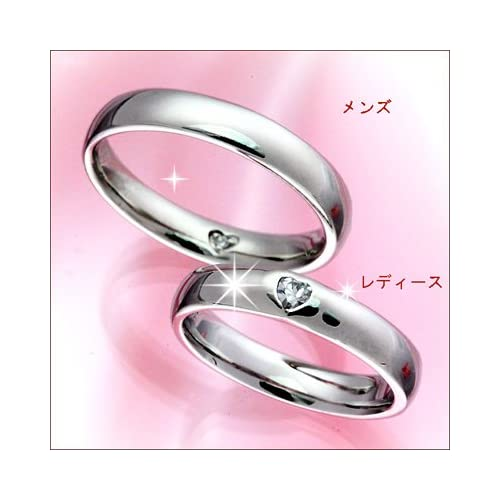 結婚指輪 マリッジリング プラチナ 2本セット ペアリング カップル ペア カットリング 結婚指輪 プラチナ ペア ハート 指輪 地金リング レディース リング プラチナ Pt 重ね着け