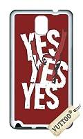 Samsung Note 3 ケース,Samsung N9000 ケース VUTTOO はい Samsung Note 3 N9000専用ケース(ホワイト) [並行輸入品]