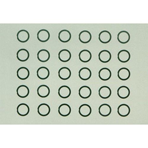 HOP-UP OPTIONS OP-726 φ6mmシムセット(3種/各10枚)