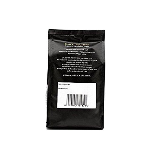 世界で最も濃いコーヒー ブラックインソムニアコーヒー (豆) [並行輸入品]