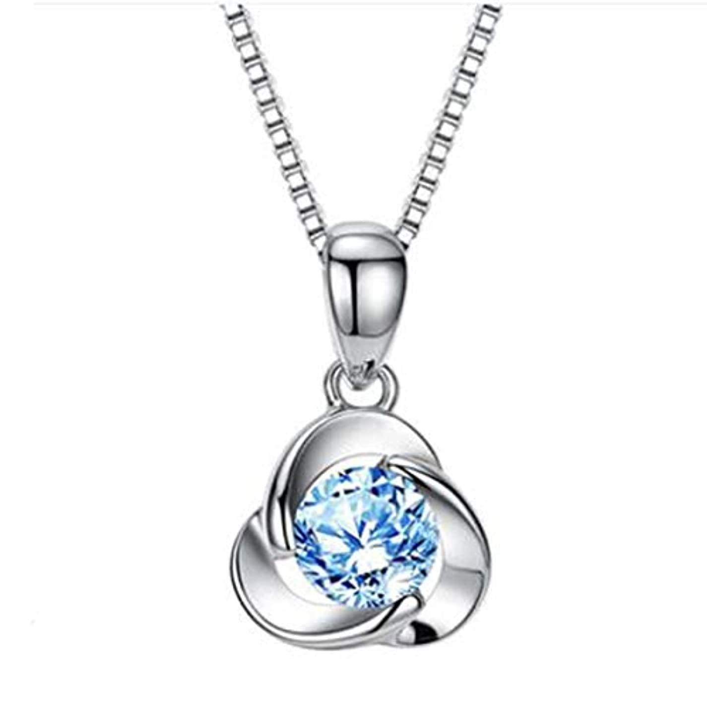 乳白チャーター永久にHongyushanghang ガールフレンドの妻の誕生日プレゼントを送る女性実用クリエイティブロマンチックな特別な心小さな贈り物,、ジュエリークリエイティブホリデーギフトを掛ける (Color : Blue)