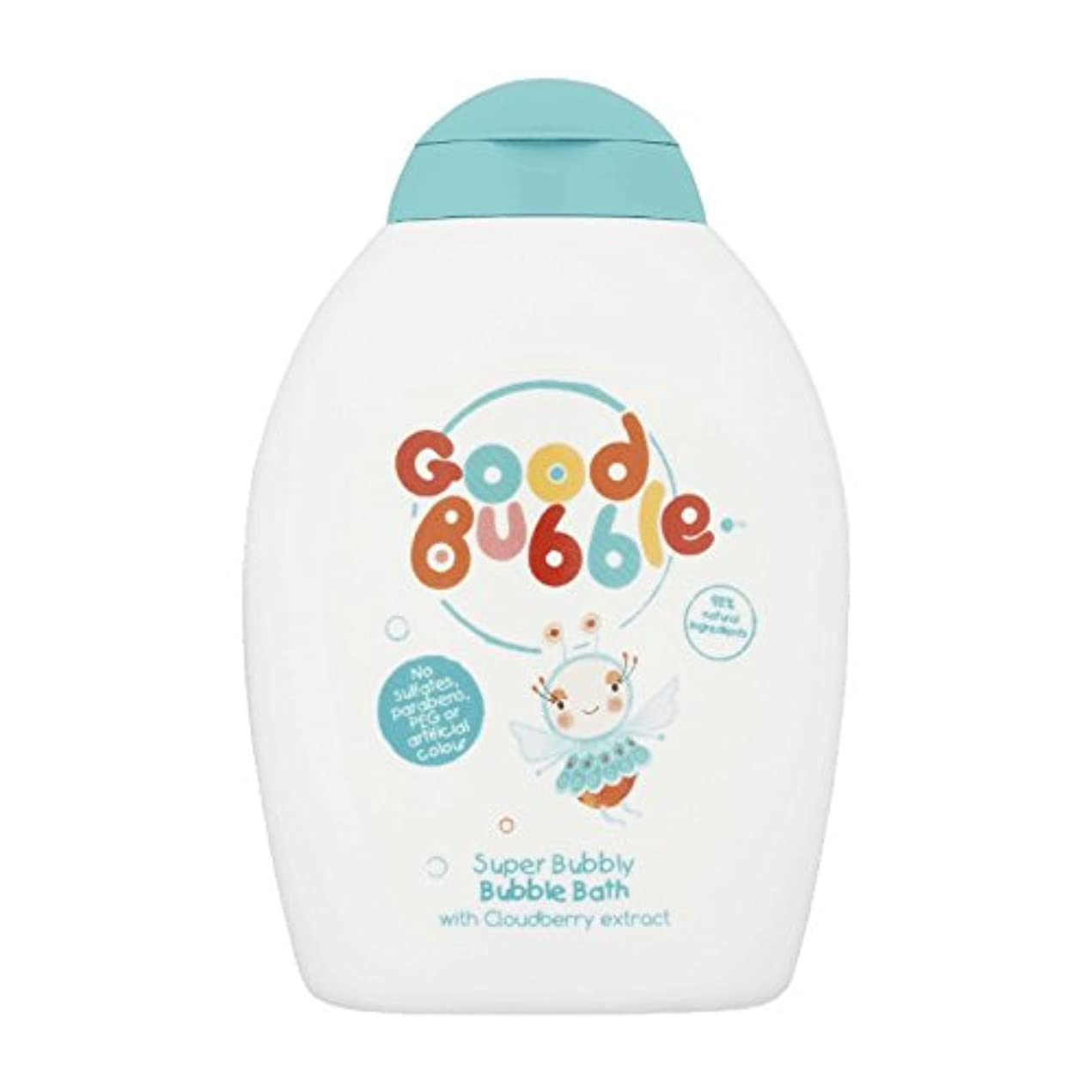 リーフレットはっきりしない小間Good Bubble Cloudberry Bubble Bath 400ml (Pack of 6) - 良いバブルクラウドベリーバブルバス400ミリリットル (x6) [並行輸入品]