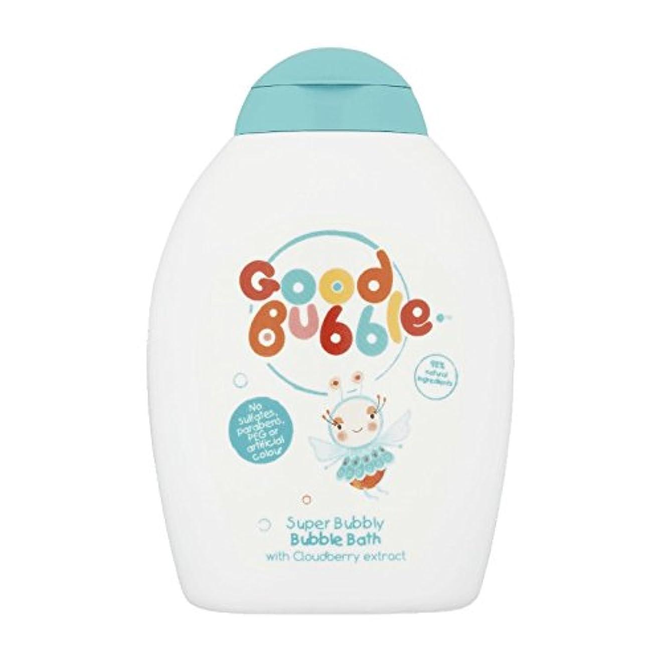 ロードされた振動させる警察署Good Bubble Cloudberry Bubble Bath 400ml (Pack of 6) - 良いバブルクラウドベリーバブルバス400ミリリットル (x6) [並行輸入品]