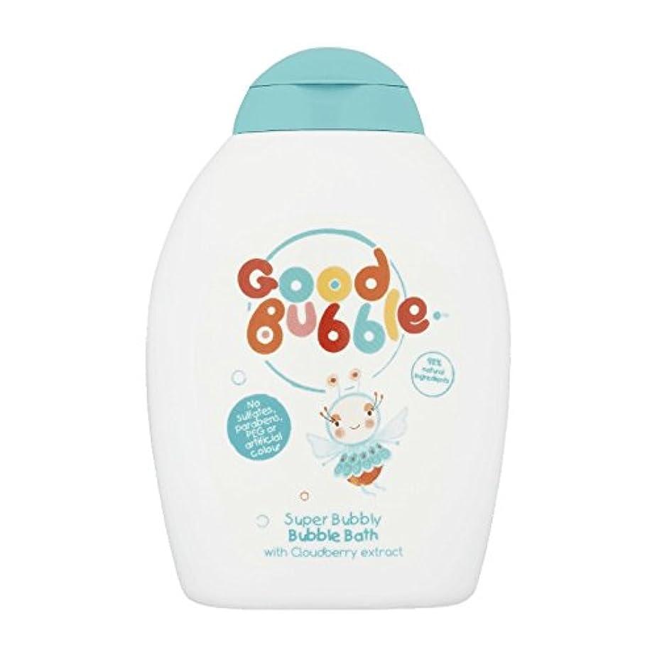 血色の良いパトロン落花生Good Bubble Cloudberry Bubble Bath 400ml (Pack of 6) - 良いバブルクラウドベリーバブルバス400ミリリットル (x6) [並行輸入品]