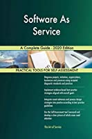 Software As Service A Complete Guide - 2020 Edition