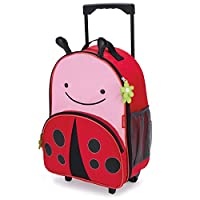 Skip Hop Kids Luggage with Wheels, Multicolour,