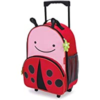 Skip Hop Kids Luggage With Wheels, Ladybug