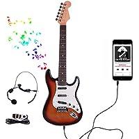 HAOUN 子供ギター 楽器 おもちゃ 子供用 キッズ ギター玩具 初心者モデル 楽器 知育玩具